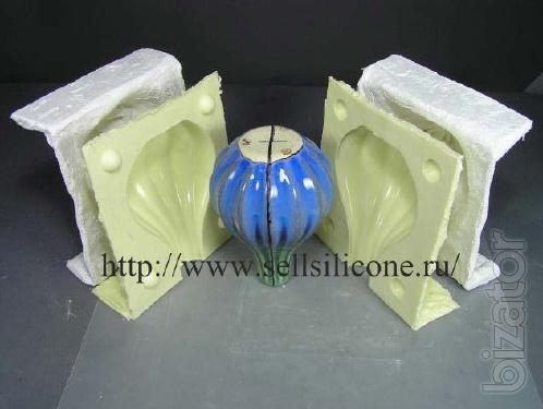 Silicone for making molds