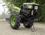 BISON JR-Q78, 8 HP (walking, cutter, plow)
