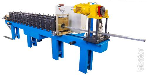 "The production line profiles of strip thickness up to 1 mm Model IPRIS"" PL - 1."