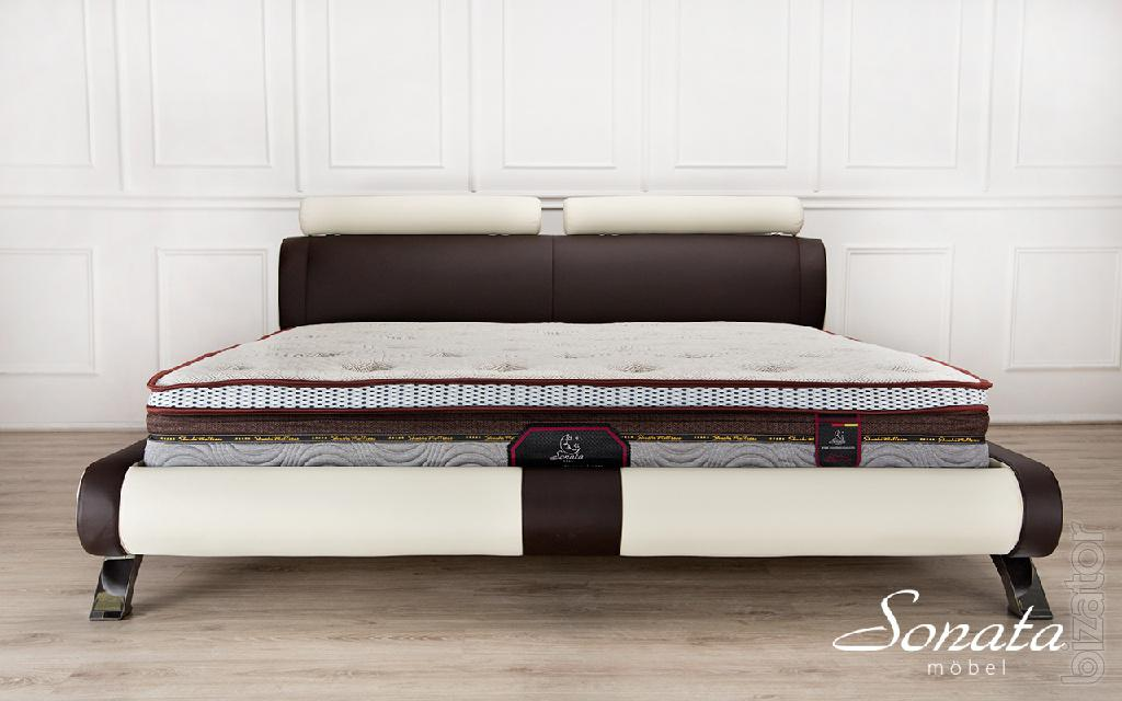 Stylish Beds From Germany Double Bed Made Of Leather And