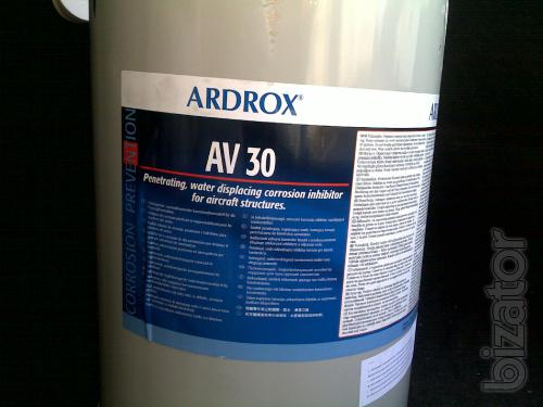Ardrox AV-8, Ardrox AV-25, Ardrox AV-30 - anti-corrosion materials