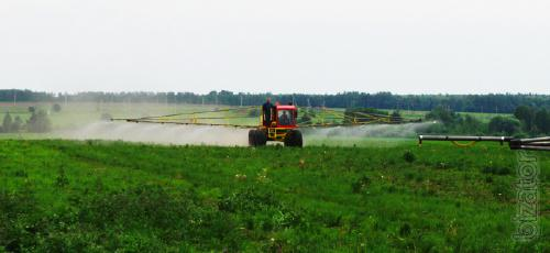 Insertion of Cam and pesticides sprayers ROSA, Tuman, bumblebee