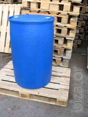 Metal barrel, p/e 200L, 175 l
