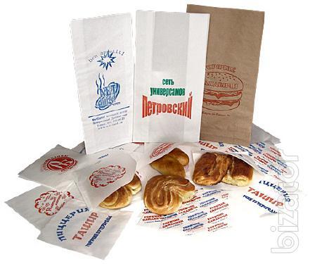 packages Kraft baking, fast food