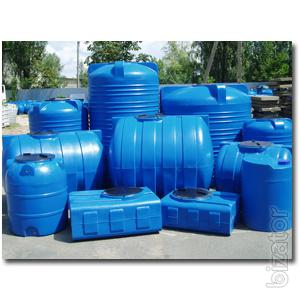 Plastic tanks, double-layer and single-layer Poltava