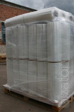 Stretch film for machine palletizing