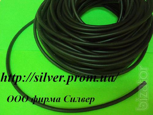 The oil-resistant rubber cord 2mm