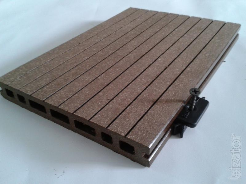 Decking wood plastic composite is already in ukraine buy for Plastic composite decking