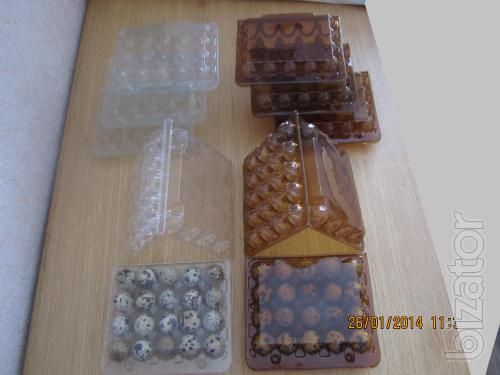 Sale of packaging for Quail eggs, quail egg in Ukraine