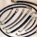 Hydraulic hoses for tractors