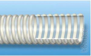 Sleeve PVC pressure-suction 25mm food