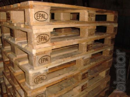 Pallets in any number.