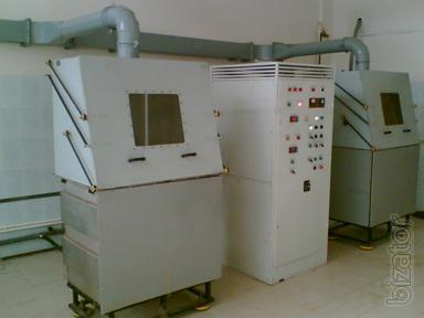 Installation of electrolytic-plasma polishing of parts from Belarus
