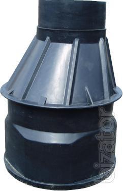 The plastic wells