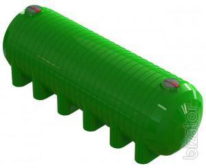 Polyethylene storage tanks for water and corrosive substances Chernihiv, Nizhyn
