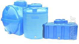 Tanks vertically oval 100 - l. barrel, the tank Turquoise