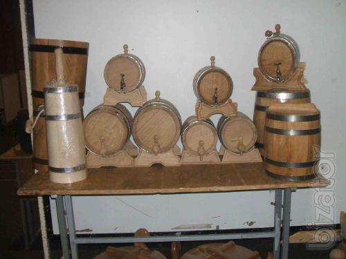 Manufacture oak barrels, cups, tubs of pickles.