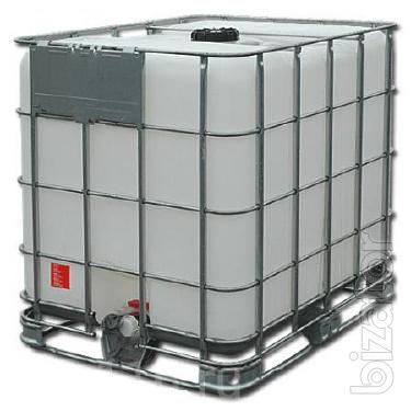 Containers, pallet containers, barrels, IBC containers per 1000 litres