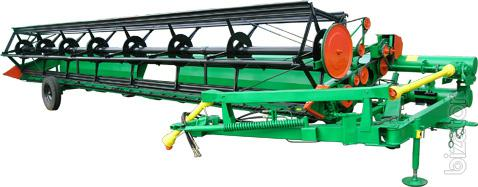 Reaper roller trailer GIT-6,4,GIT-6M,GIT-5,1,GWP of 4.9 for tractors