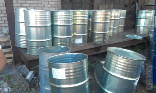 Will sell used drums 200 l metal with a removable cover.