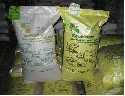 Feed and feed additives from the manufacturer. Quality European - price crisis