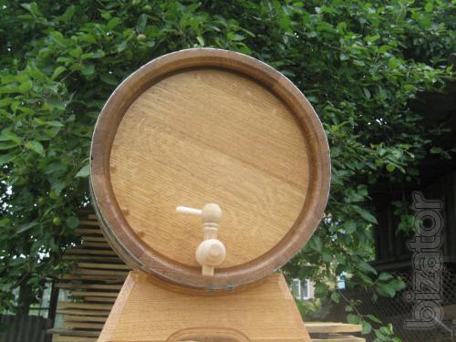 Barrels for wine.
