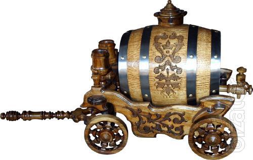 Manufacture oak barrels.