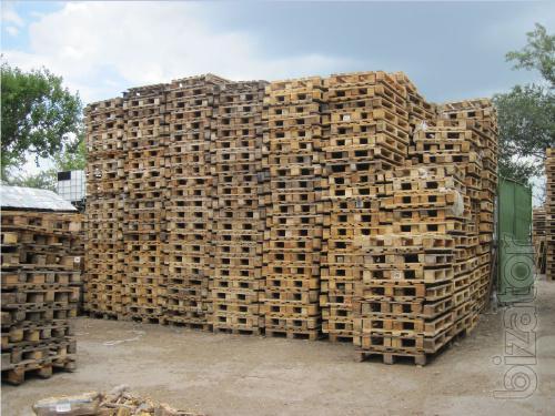 IBC container 1000 l, pallets