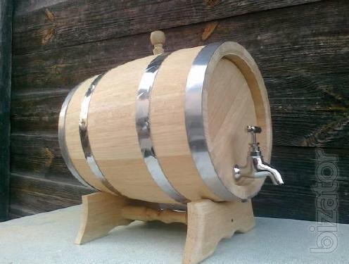 Oak Barrels, Tubs.