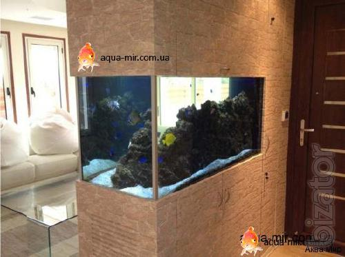 Aquariums turnkey