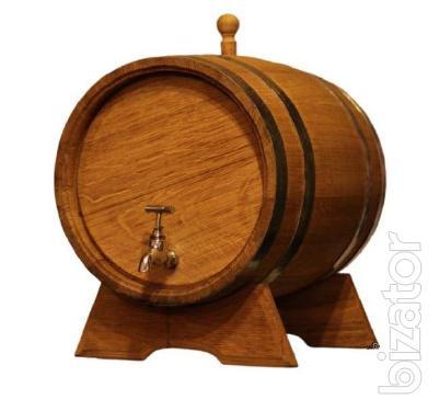 Oak barrels and jugs