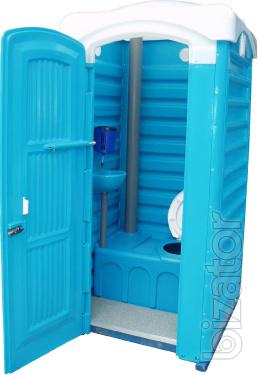 Toilet cubicles for cottages, houses, villas White Church