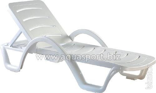 Plastic deck chairs and sun loungers Buy on