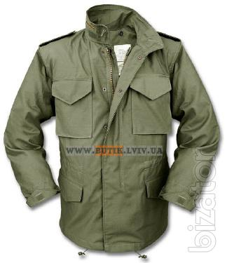Original jacket M-65 from the American company Alpha Industries