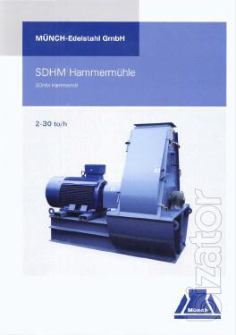 Hammer crusher company Muench Edelsta