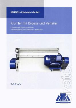 The grinder granules company Muench Edelsta