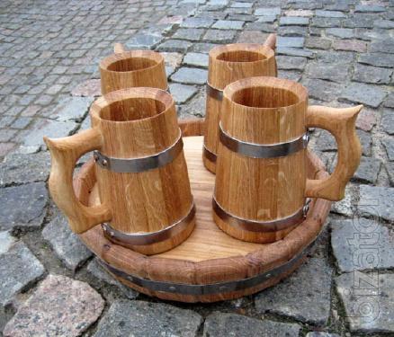 Barrels for drinks oak. Other articles.