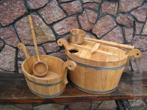 For bath cooperage: gang, buckets, supernice, ladles, and more.