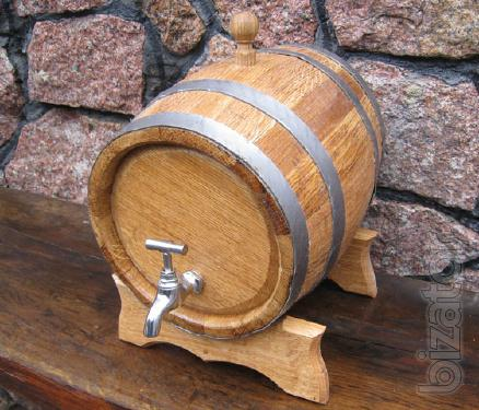 Oak barrel - need a container for wine.