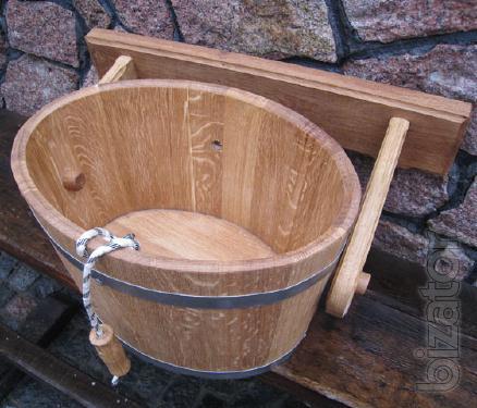 Bucket-waterfall bath