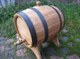 Oak barrels, wooden barrels, barrels for wine and brandy