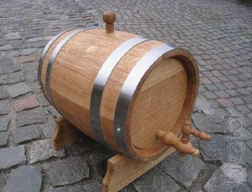 Produce and sell Oak barrels for wine brandy, tubs