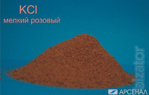 Potassium chloride ( potassium chloride, KСl), small pink