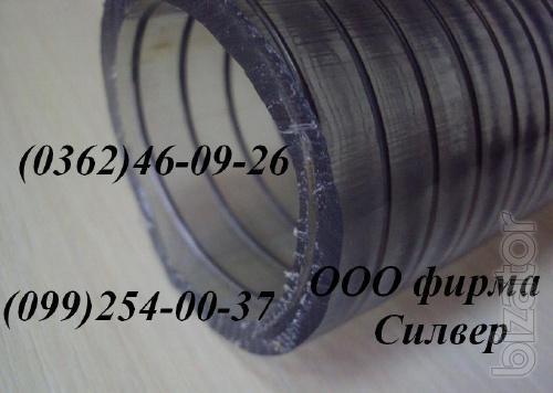 Vacuum reinforced hose PVC