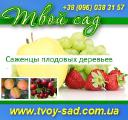 Fruit trees Saplings 2013 retail are accept. opt.