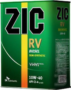 Semi-synthetic motor oil ZIC RV 10w-40