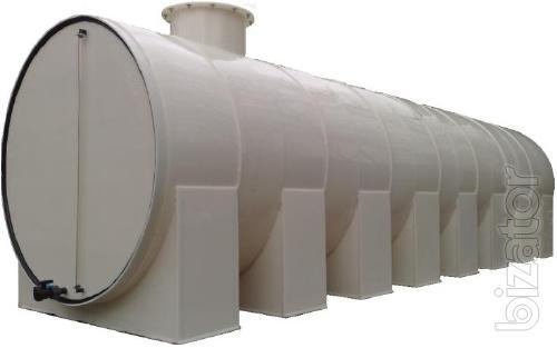Underground and aboveground tanks