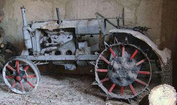 "I will urgently sell the tractor Wagon-2"", Vladimir tractor plant (VPP)."