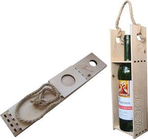 Exclusive wooden packing. With production in Ukraine...