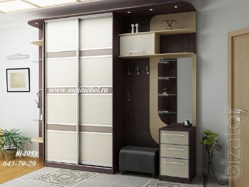Corner, fitted wardrobes not standard. Hallway furniture